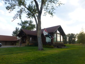 Vacation home located on rural site near the Jefferson River